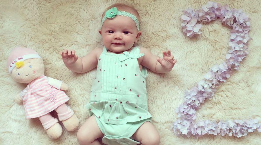 2 месяц развития ребенка