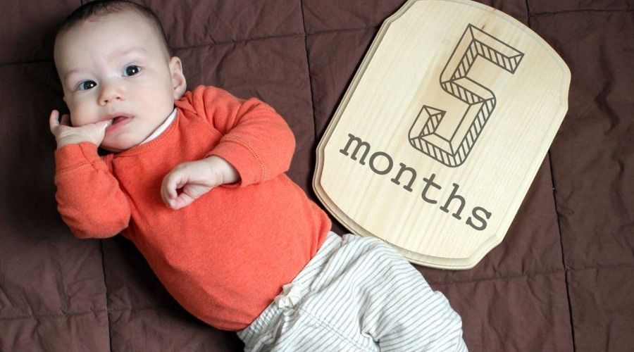 5 месяц развития ребенка