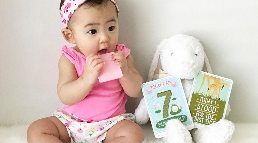 7 месяц развития ребенка